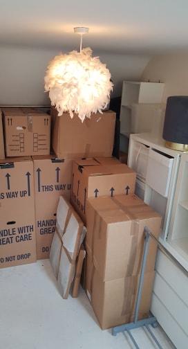 Packing service in bishop's Stortford
